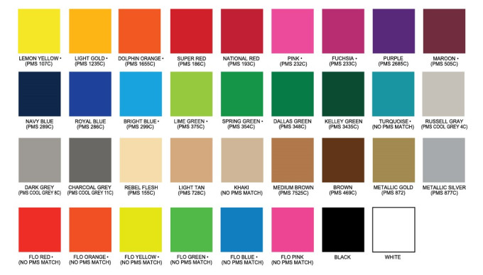 Embroidery Color Chart Ibovnathandedecker